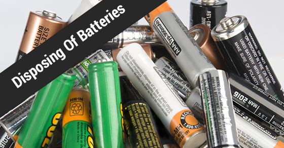 Batteries Disposal