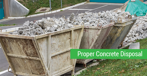 Concrete & Soil Disposal Tips