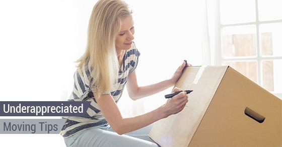 Underappreciated Moving Tips