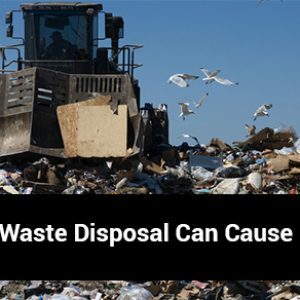 Incorrect Waste Disposal Can Cause Damage