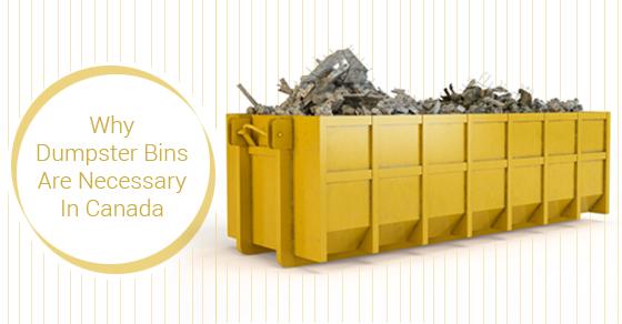 Dumpster Bins