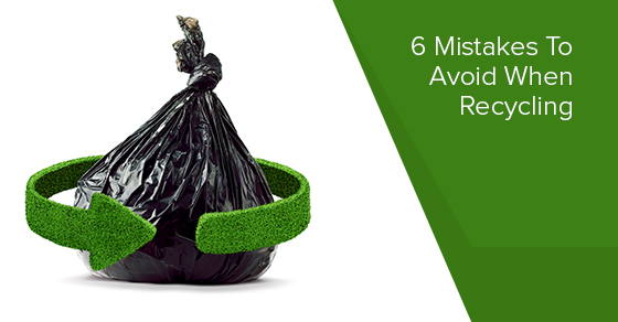 6 Common Recycling Mistakes : Gorilla Bins