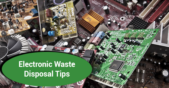 Electronic Waste Disposal Tips