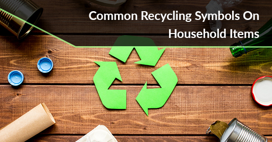 Common Recycling Symbols On Household Items