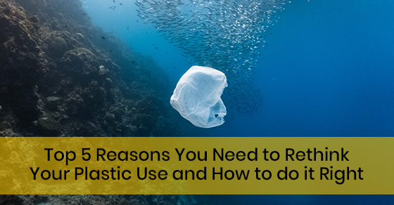 Top 5 Reasons You Need to Rethink Your Plastic Use and How to do it Right