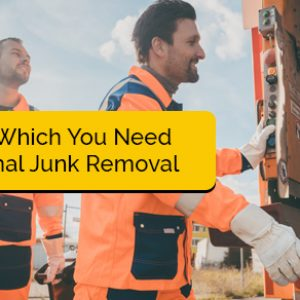 Items for Which You Need Professional Junk Removal