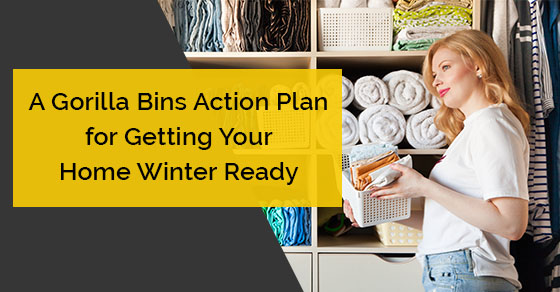 A Gorilla Bins Action Plan for Getting Your Home Winter Ready