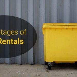 Advantages of Bin Rentals
