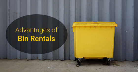 Advantages of Bin Rentals