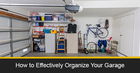 How to effectively organize your garage