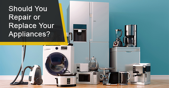 When to repair or replace your home appliance