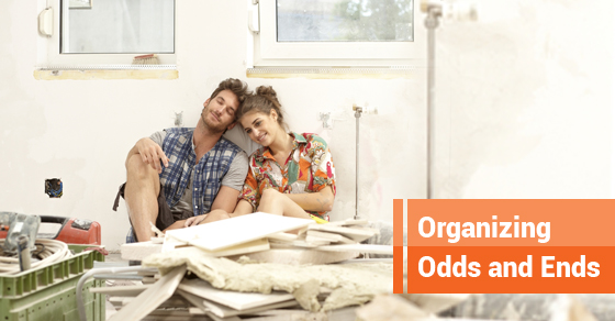 How To Organize Your Junk During A Remodeling Project