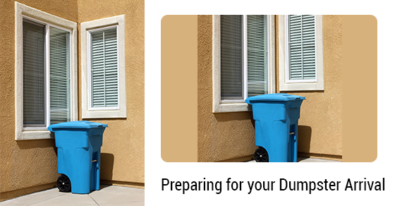 Preparing for the Arrival of a Dumpster Rental