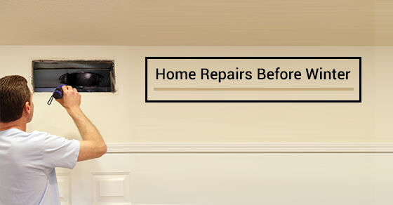 11 Home Repairs to Do Before the Winter