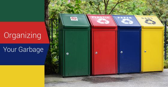 Organising Garbage In Green way
