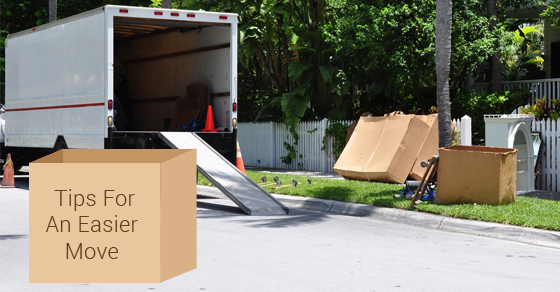 4 Tips for an Easier Move