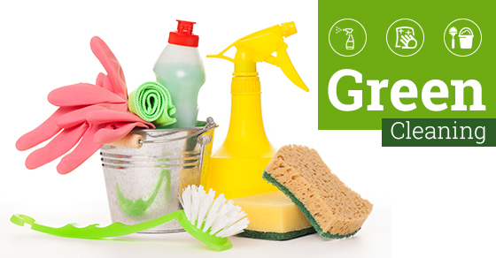 4 Ways To Make Your Cleaning Green