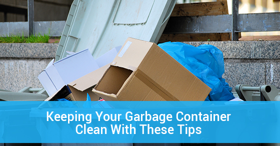 Tips For Cleaning Your Garbage Container