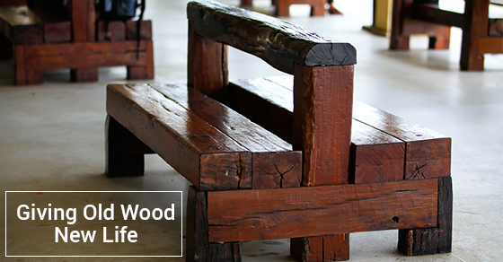 Tips For Recycling Old Wood