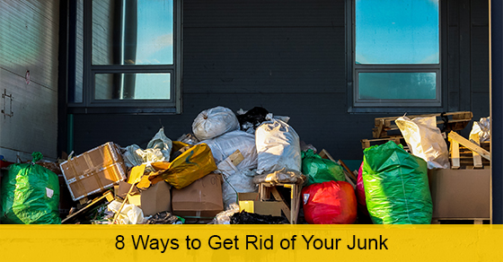 8 Ways to Get Rid of Your Junk